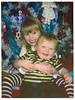Darcy and Evan Xmas 2008. Billy Stewarts grandchildren