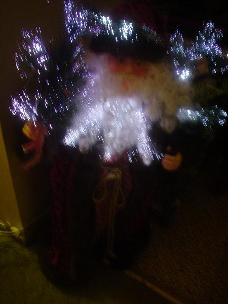 Fiber Opt Santa 1