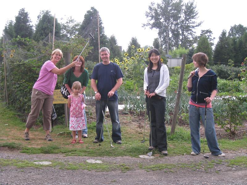Jane, Maddy, Mirranda, Tim, Chiyoko & Anwen