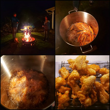 Birthday Fish & Chips