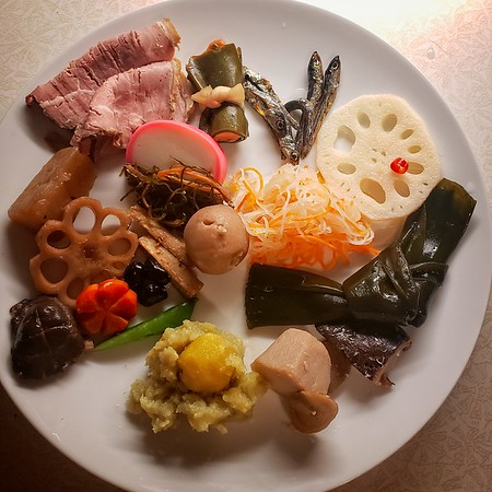 New Years Day Osechi