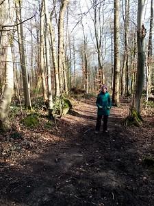 Mum in Hyning Wood