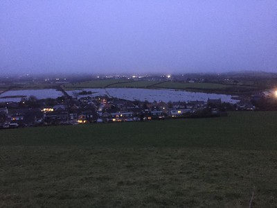 2021/01/20: Flooding in Warton © Jane