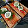 Making Cedar Plank Salmon 2015/05/25