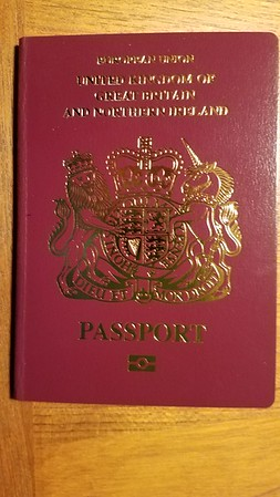 New Passport Arrives~!