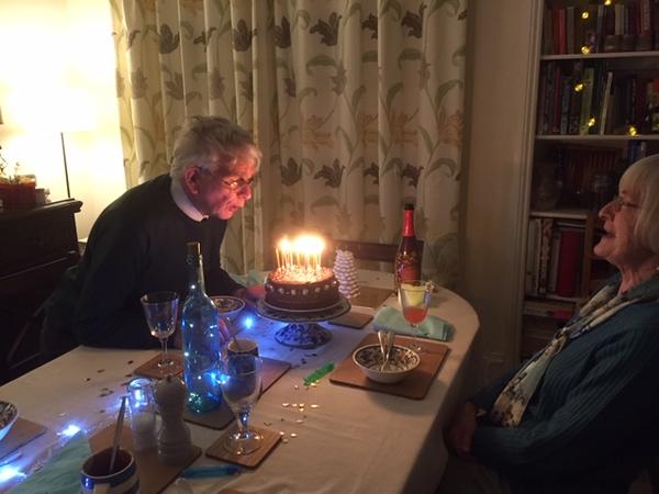 Dad's Birthday Tea!