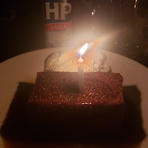 2019/11/22: Birthday Sticky Toffee Pudding!