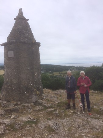 2018/06/01 Mum & Dad at the Pepperpot. © Jane Meacham
