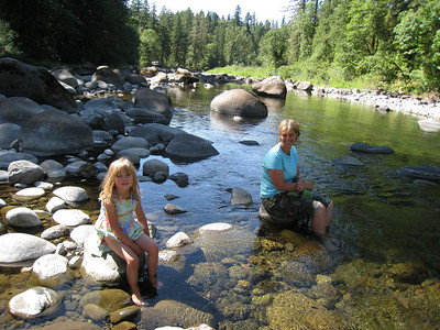 Sandy River & Home - August 2009
