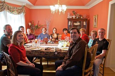 Nash-Johnson Thanksgiving Dinner