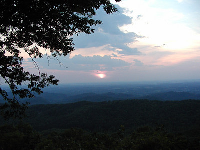 Foothills Parkway West Sunset Blount County, TN Tues. May 29, 2007
