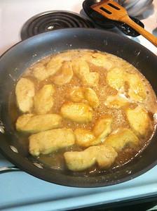 Making a delicious Chicken Marsala