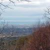 View toward Maryville from Look Rock Tower