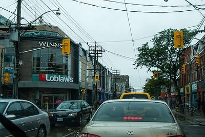 Around Toronto with family