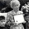 Grandma Dulsura was 93 when she became an American Citizen!