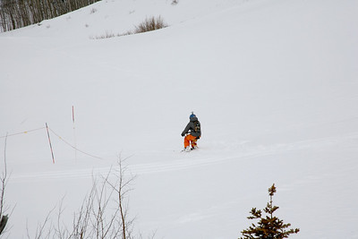 Trish and Her Ski Scooter
