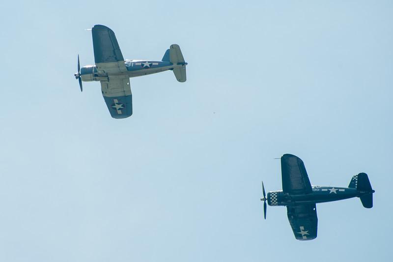 Vought F4U Corsairs