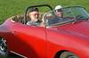 Dad & Ash in the Porsche kit car