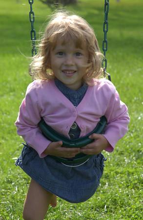 Zara on swing