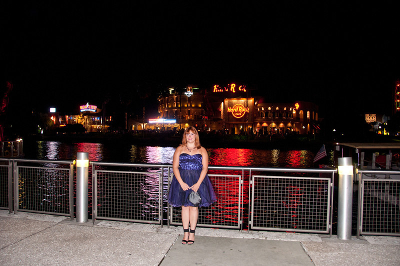 Ashleigh at the 2011 Apopka High Homecoming Dance at Hard Rock Live, Universal Studios Orlando, FL on 10/22/2011