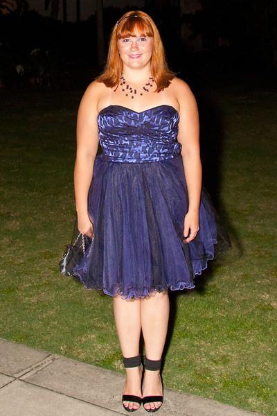 Ashleigh at the 2011 Apopka High Homecoming Dance at Hard Rock Live, Universal Studios Orlando, FL on 10/22/2011