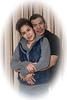 Ashley Spence and partner Leroy Wynne.