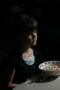 testing out radio trigger, I like the light I ended up with this shot, of course way more casual than would be for a portrait with that bowl of cereal, but a genuine moment indeed.