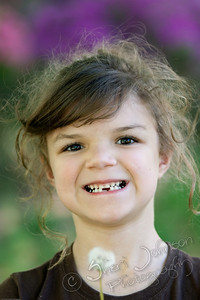 """she lost another tooth and looks like her 1st """"big"""" tooth is coming in"""