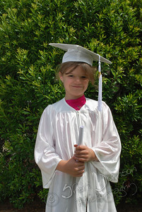 kindergarten graduation - photo was not taken by me, but I wanted to make sure it was saved in a safe place so we can print it :)