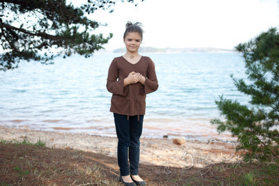 Lake Lanier, natural light portraits