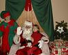 Faith and Santa, December, 2004.