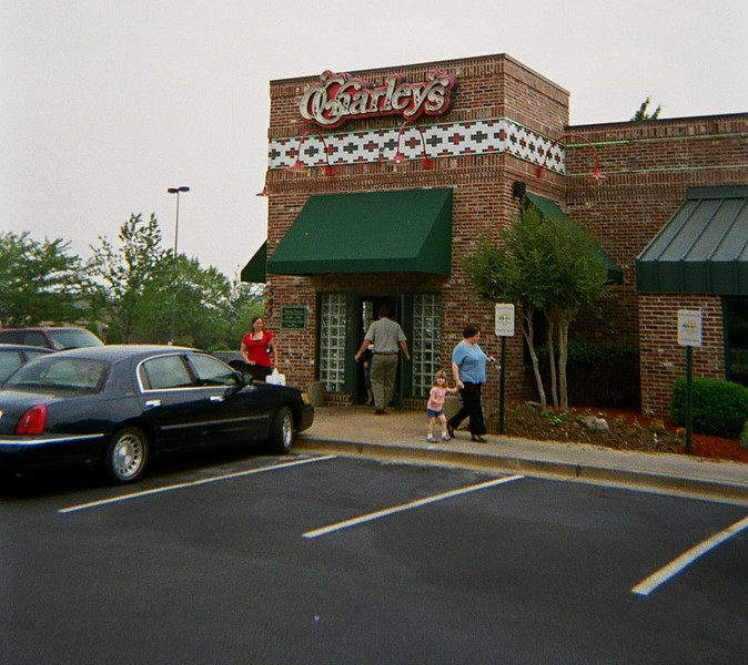 What happens at O'Charley's  should stay at O'charley's