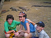 Jesse, Aliza, Zack, and Komodo Dragons, Rinca Island