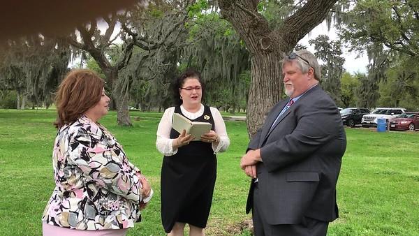 Aub and Lisa Wedding - Mark video