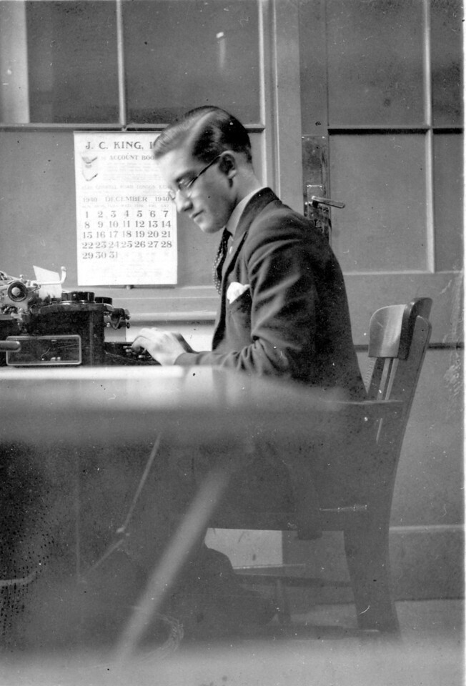 Frank Wright, December 1940