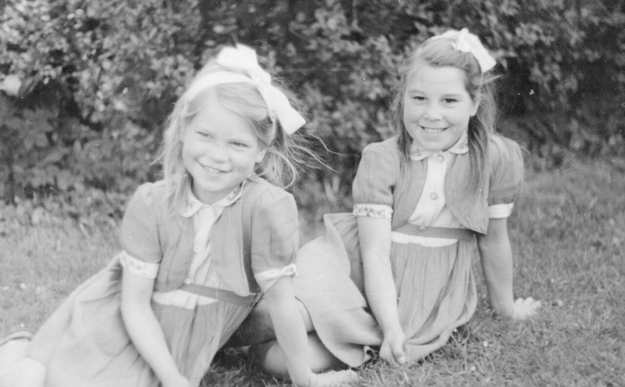 Audrey's cousin's Jenny & Mavis Nicholson