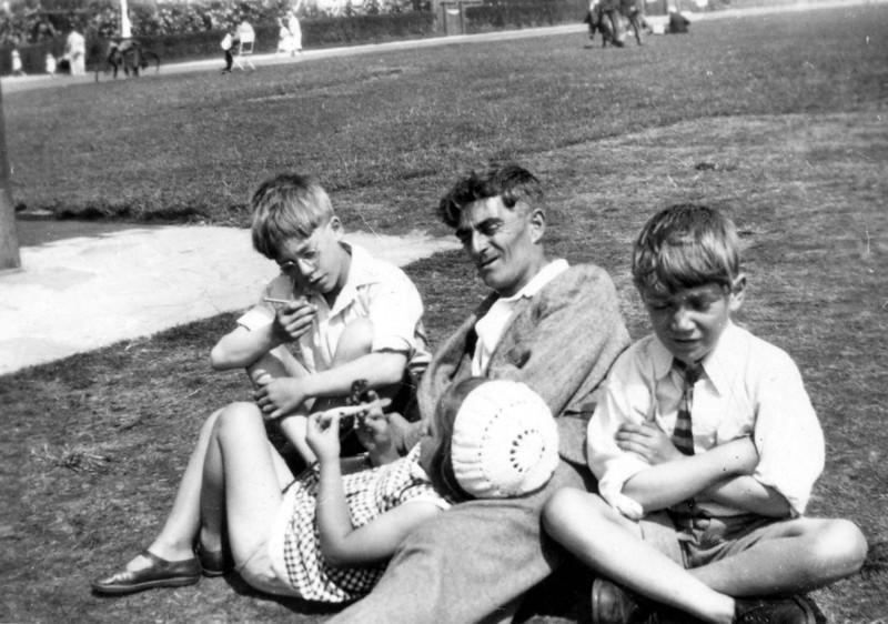 Frank, Grandad Frank, John & Daphne
