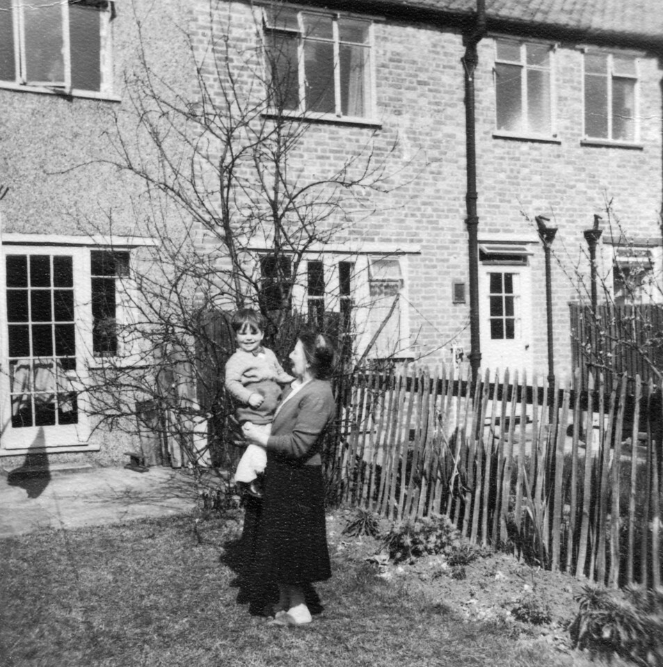 ?, Nan (Emily Wright), 6 Windermere Road, Streatham
