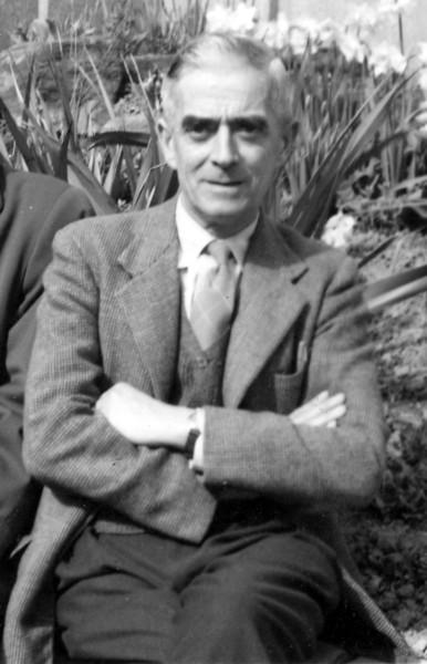 Grandad (Frank Wright) at convalescent home St Leonards on Sea
