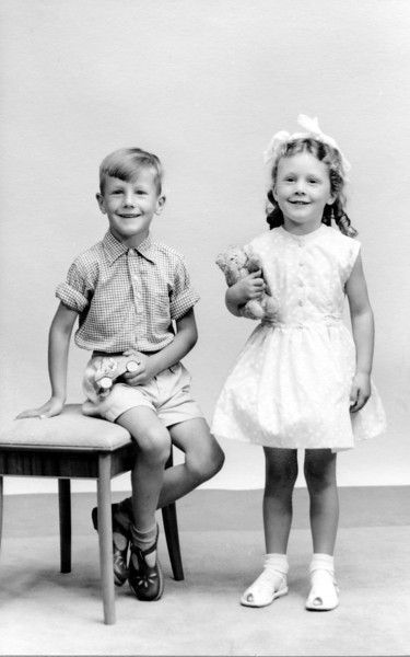 Audrey's Cousin, Beryl's children, Gerald & ?