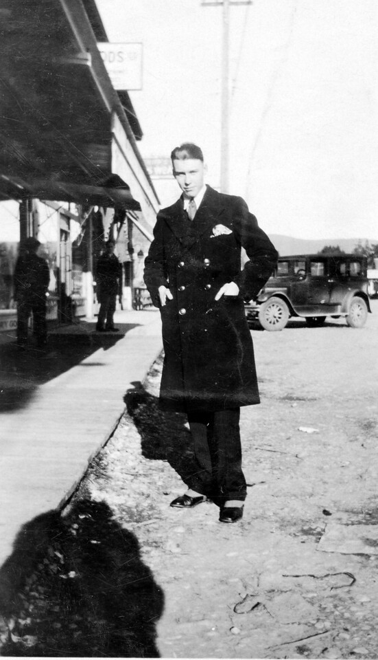 Bill Jones, Port Alberni, British Columbia 1931