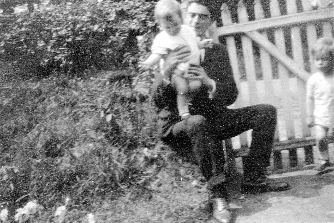 Uncle John, Grandad (Frank Wright) & Uncle Frank