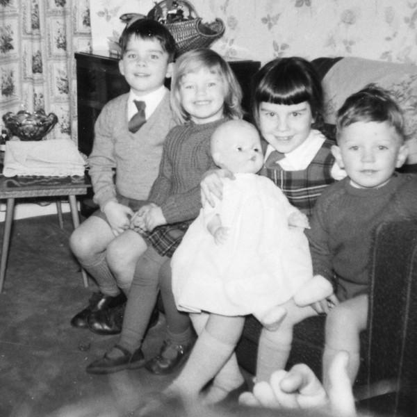 David, Lizie & Julie Wright, Philip Kavanagh