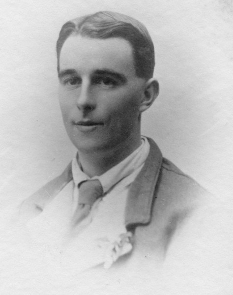 Audrey's Uncle Perce Nicholson (Glad's husband)