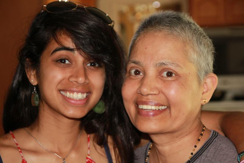 Vidya and Vinoda -- I love this photo
