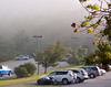 Fog/Cloud at Mt. Pisgah Inn, an hour after sunrise