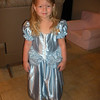 Nana fixed Camden's Cinderella dress and she had to try it on.