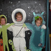 We met Charley and Mrs. Caren at the Discovery Science Place this morning. Camden, Claire and Charley are in outer space.
