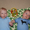 Brady and Ronan (who was born the week after Brady) were the only boys allowed to be at the brunch!