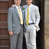 Here is the groom and Uncle David pre -wedding.